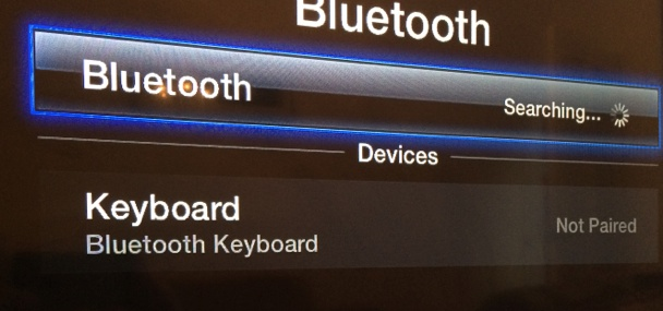 Connecting a Bluetooth Keyboard to an Apple TV - HEAD4SPACE