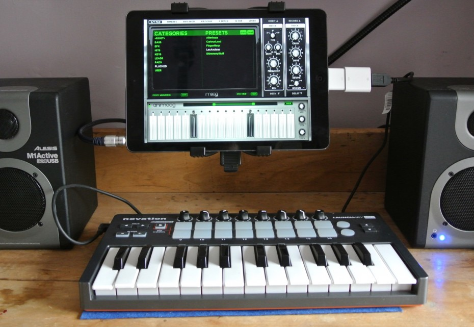Hook up midi keyboard to mac
