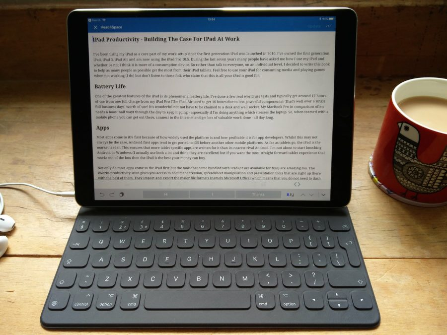 IPad Productivity - Building The Case For IPad At Work
