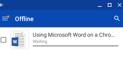 Microsoft Word on a Chromebook User Experience - HEAD4SPACE